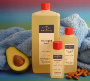 Massageöl neutral 500 ml